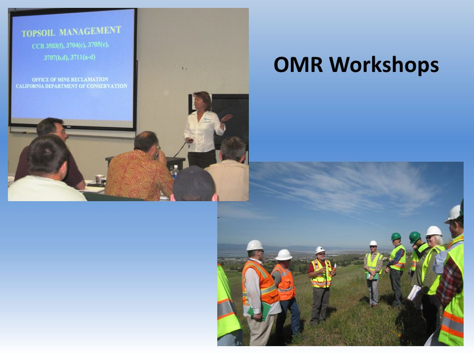 OMR Workshops