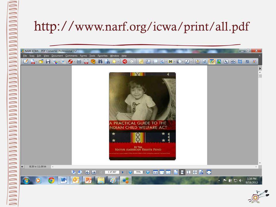 http:// www.narf.org/icwa/print/all.pdf