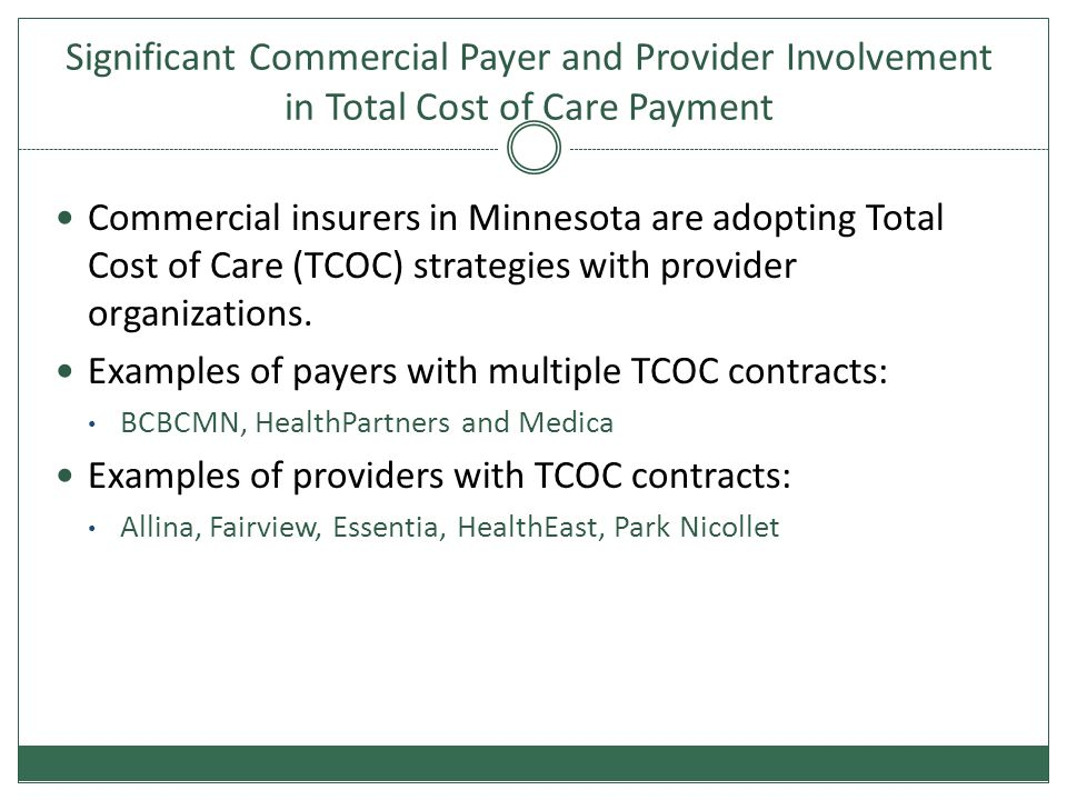 Three Medicare Pioneer ACOs in Minnesota 1.Allina Hospitals & Clinics 2.