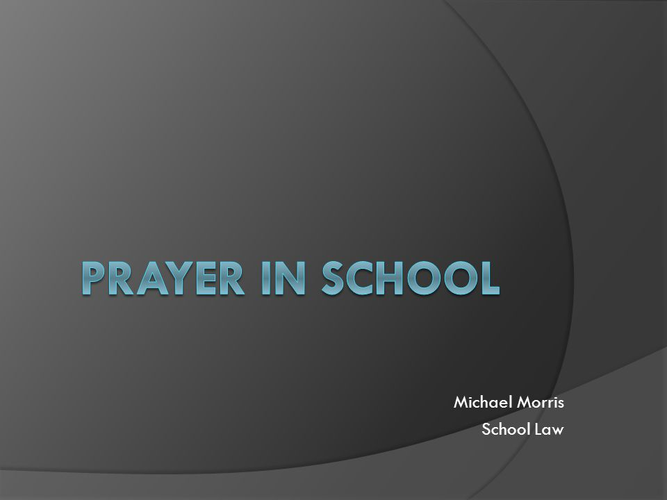 Michael Morris School Law