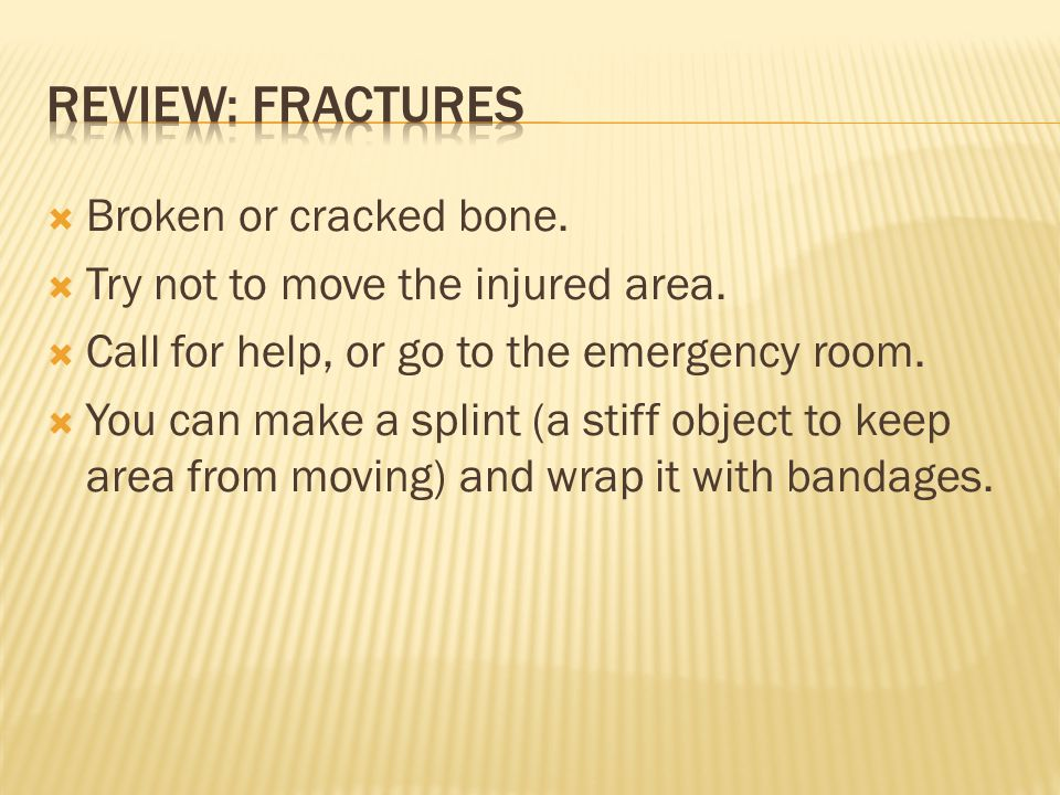  A bone has been forced out of its normal position in a joint.