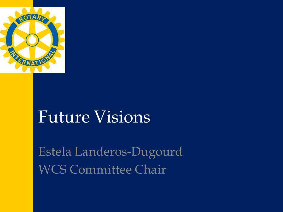 Future Visions Estela Landeros-Dugourd WCS Committee Chair