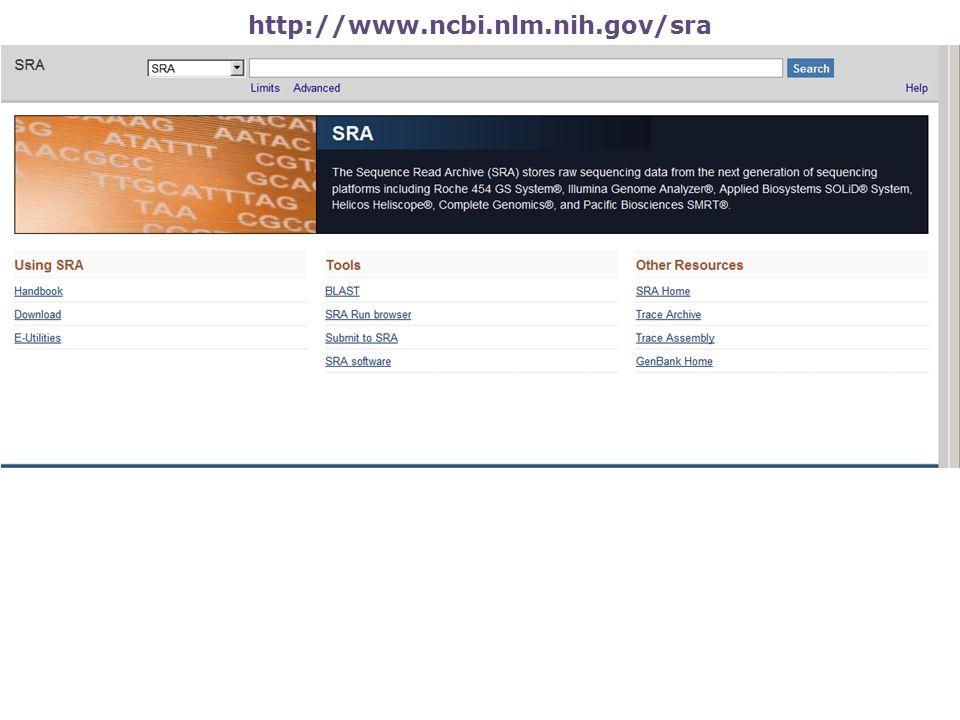 http://www.ncbi.nlm.nih.gov/sra