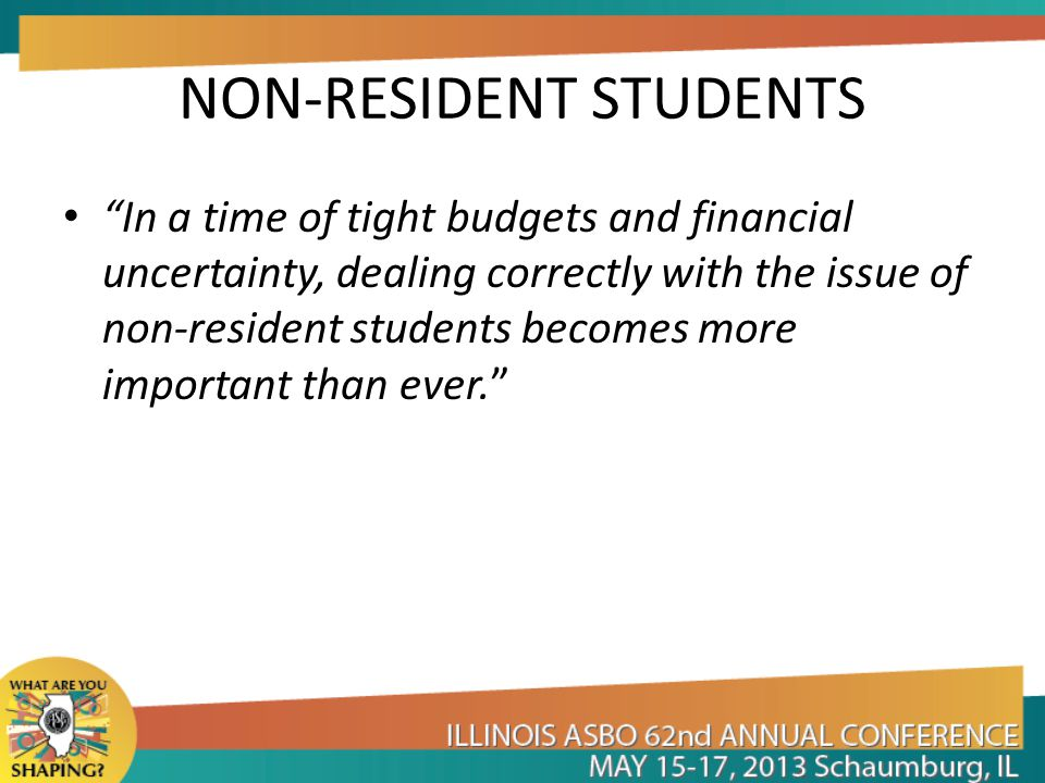 NON-RESIDENT STUDENTS WHAT ARE YOUR OPTIONS? – PREVENT IT STAFF TRAINING REGISTRATION POLICIES