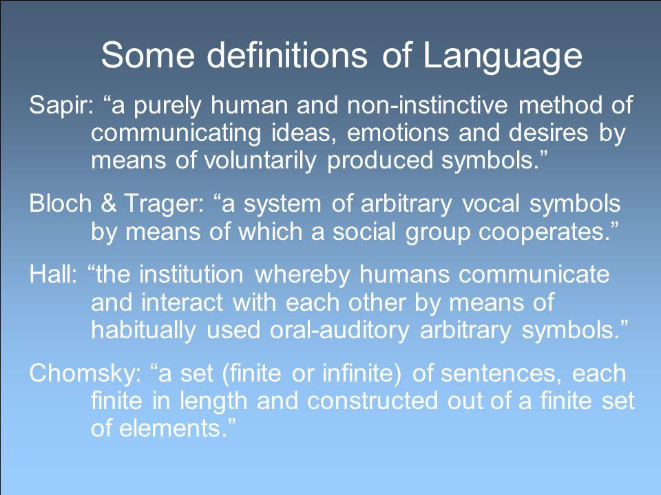 Language competence Linguistic competence develops through language use.