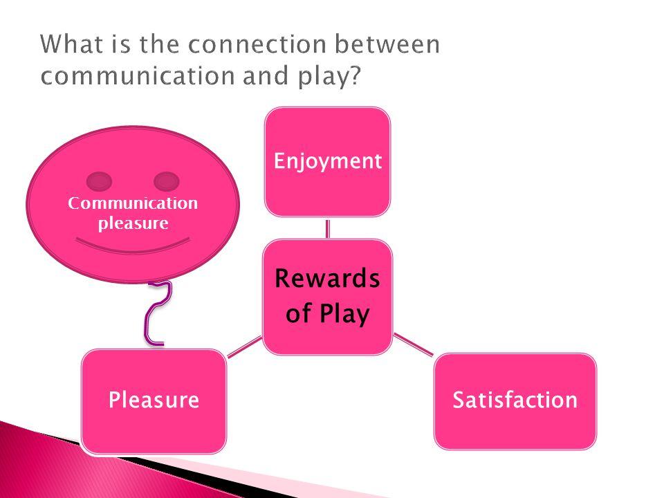 Rewards of Play Enjoyment Satisfaction Pleasure Communication pleasure
