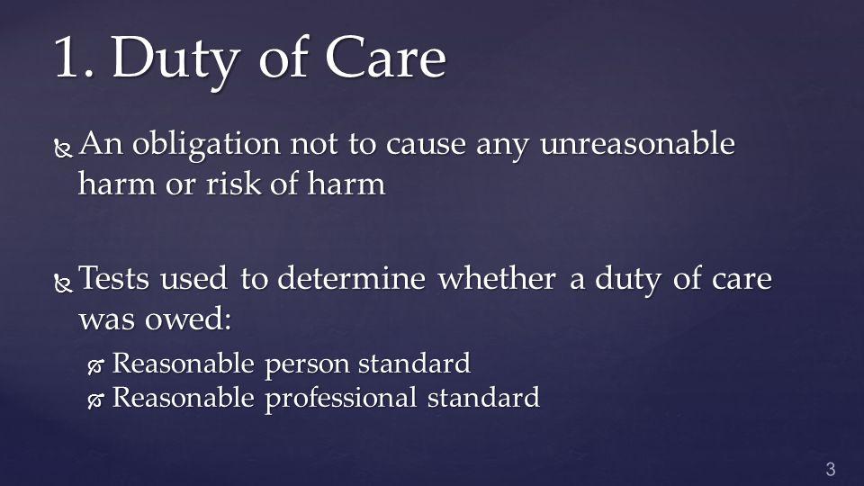 Defenses Against Negligence 3.