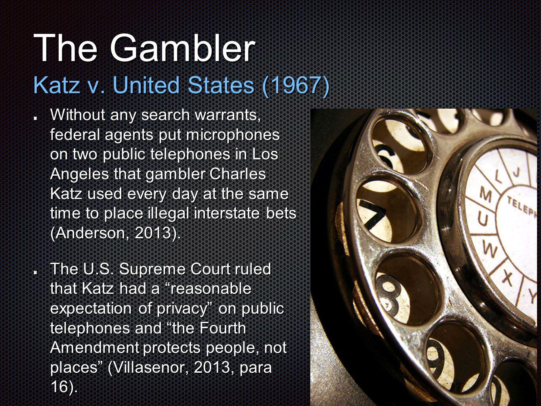 The Gambler Katz v.