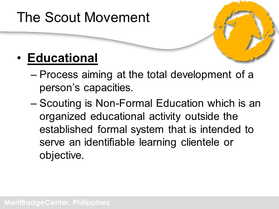 Methods of Scouting A Promise and Law Learning By Doing Membership of Small Groups Progressive and Stimulating Programs