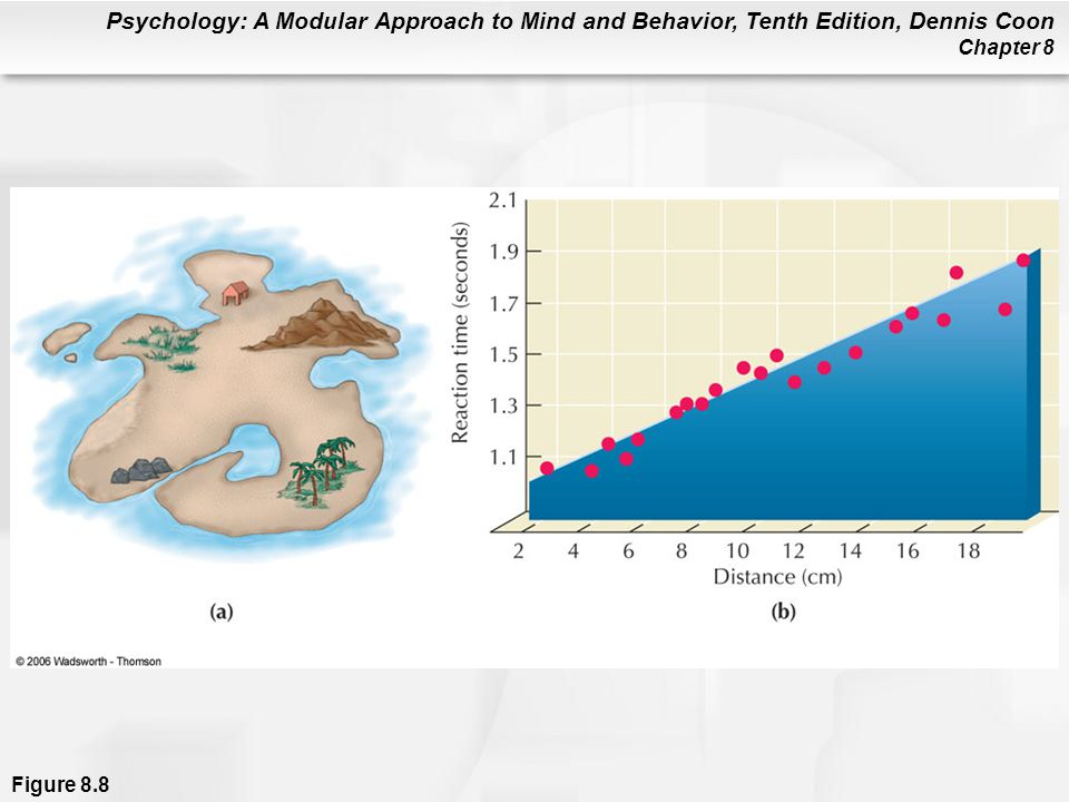 Psychology: A Modular Approach to Mind and Behavior, Tenth Edition, Dennis Coon Chapter 8 Figure 8.8