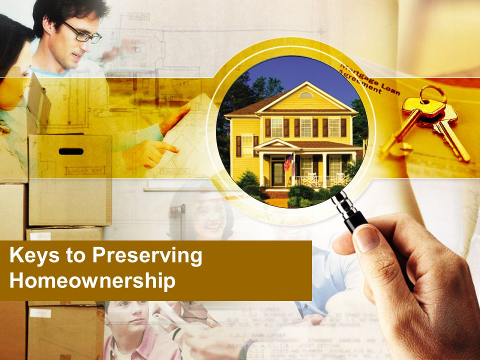 Keys to Preserving Homeownership
