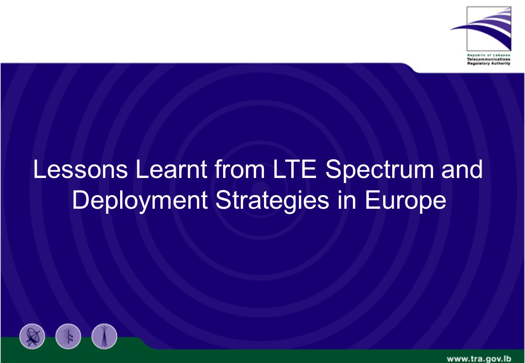 7 Regulator Strategies in LTE Bands: Allocations and auctions timing are key factors to control the bands values