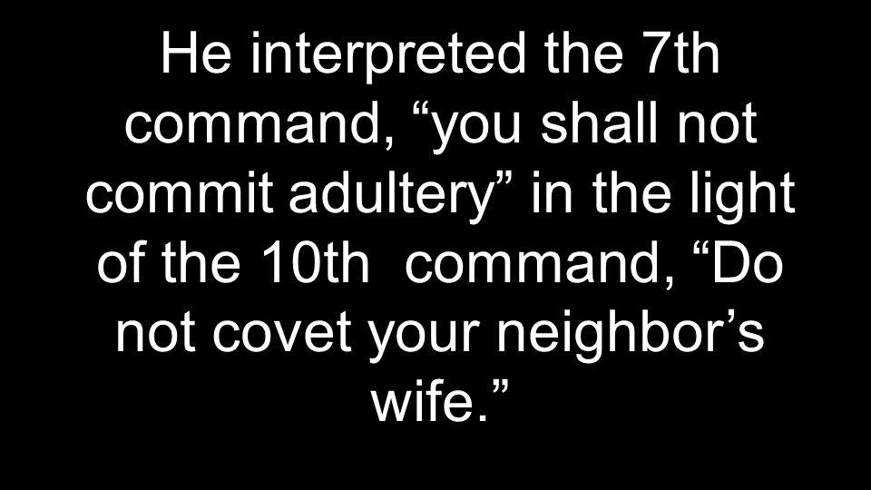 Satan desires to destroy our families.