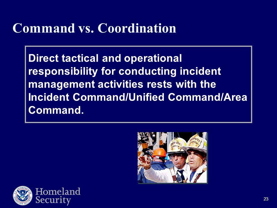 23 Command vs.