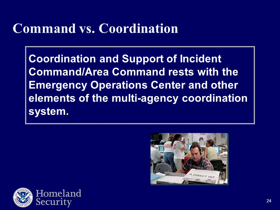 24 Command vs.
