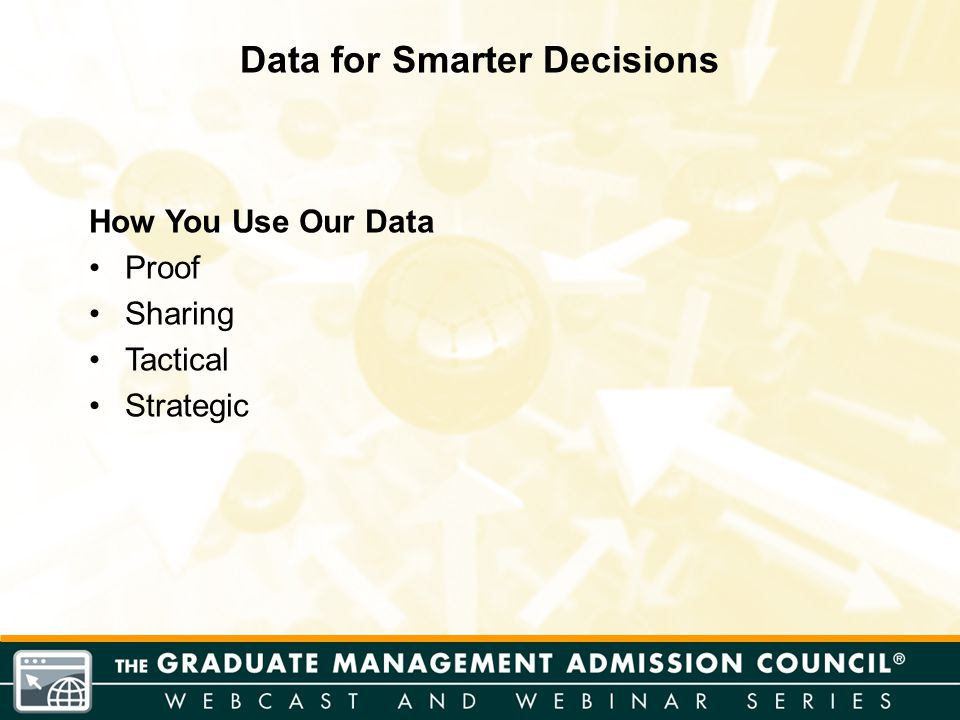 How You Use Our Data Proof Sharing Tactical Strategic Data for Smarter Decisions