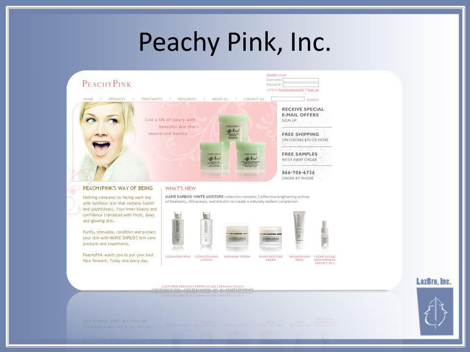 Peachy Pink, Inc.