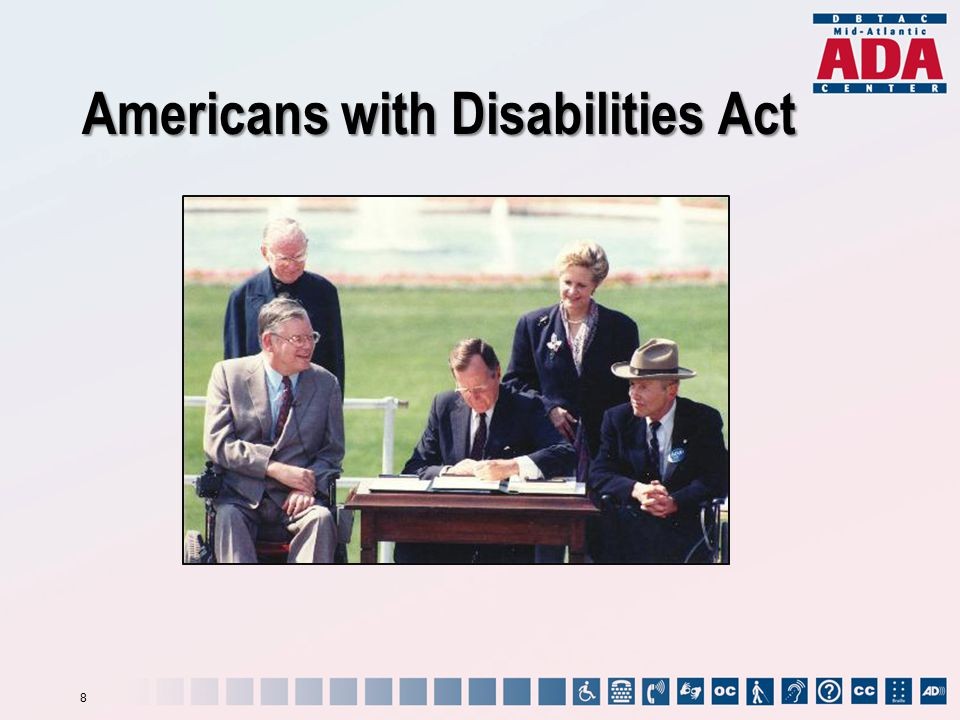 Americans with Disabilities Act 8