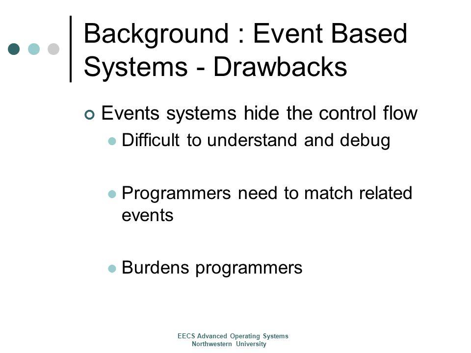 Results: Web Server Performance EECS Advanced Operating Systems Northwestern University