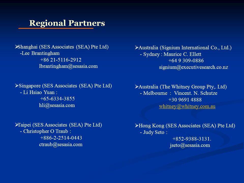  Australia (Signium International Co., Ltd.) - Sydney : Maurice C.