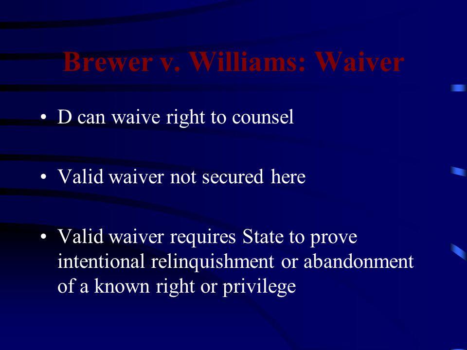 Brewer v.