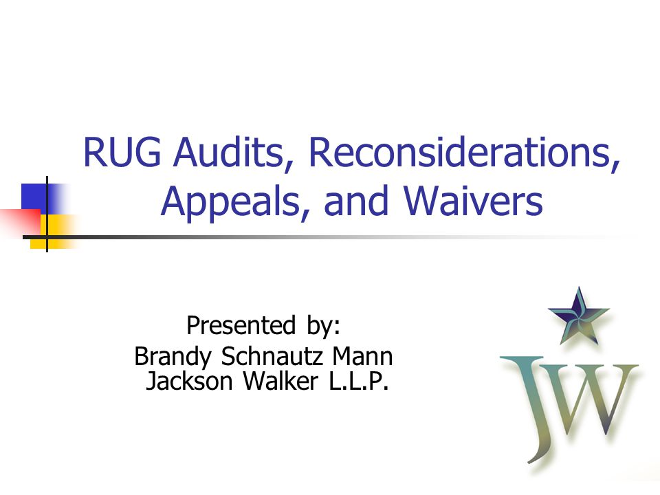 2 RUG Audits Resource Utilization Group ( RUG ) audits officially replaced TILE audits in 2008 However, after two years of delay, RUG audits actually only began in the fall of 2010 RUG audits are conducted by HHSC- OIG's Utilization Review ( UR ) teams