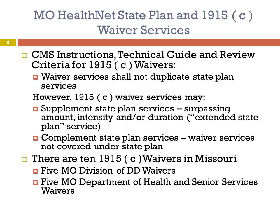 MO HealthNet Behavioral Health Services  MO HealthNet Behavioral Health services be may included in the school based services program for public schools  Only services identified in the Individualized Education Plan will be reimbursable  Link to Behavioral Health Services Manual:  http://manuals.momed.com/collections/collecti on_psy/Behavioral_Health_Services_Section13.
