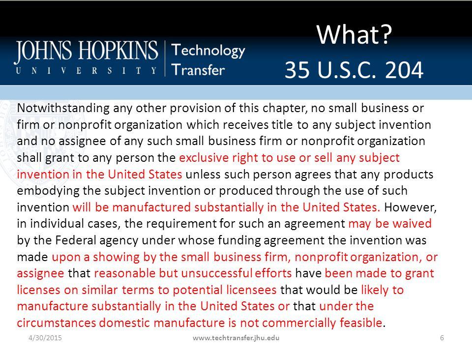 What. 35 U.S.C.