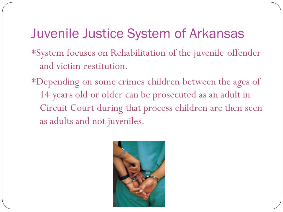 juvenile justice of yesterday today and The office of juvenile justice and delinquency prevention (ojjdp) compiles arrest information provided by law enforcement agencies each year and creates reports examining the trends, rates and statistics for juvenile crimesevery four years the ojjdp publishes a comprehensive study as part of its juvenile offenders and.