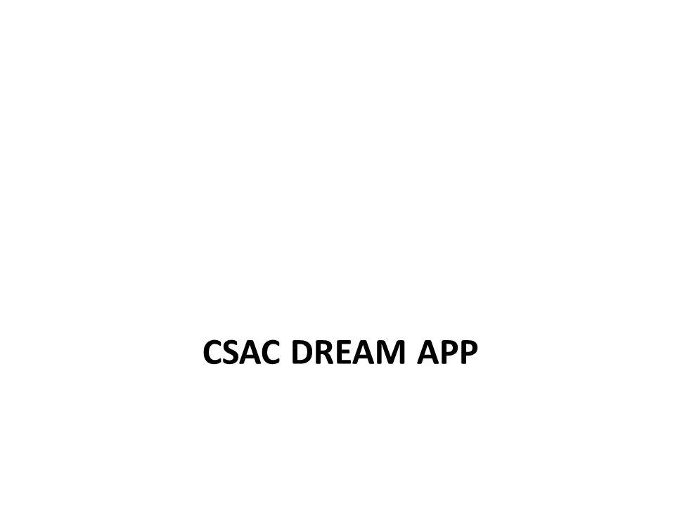 CSAC DREAM APP