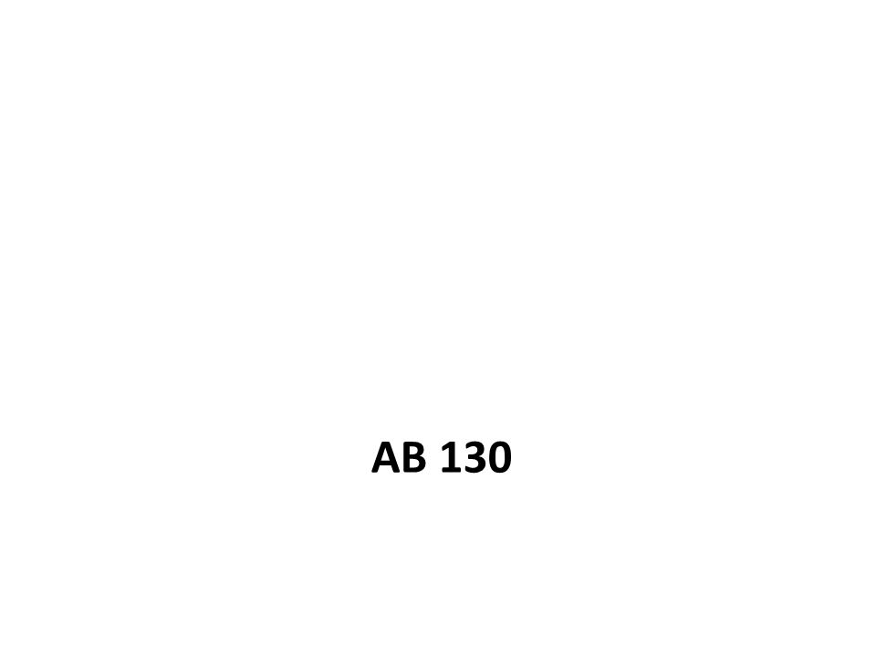 AB 130