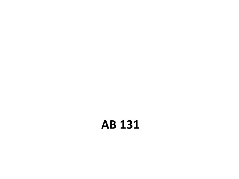 AB 131