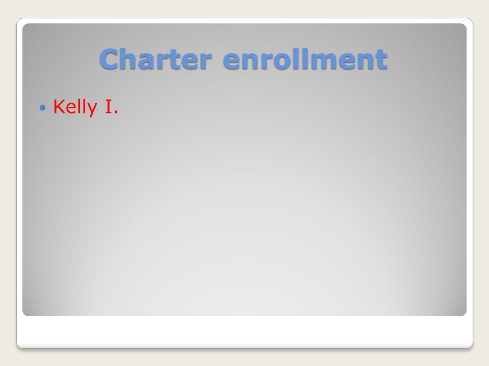 Charter enrollment Kelly I.