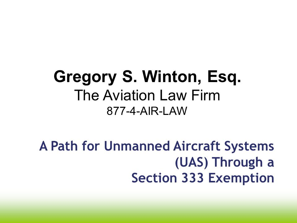 Grant of Exemption No.11062 +Conditions and Limitations - UAS less than 55 pounds.