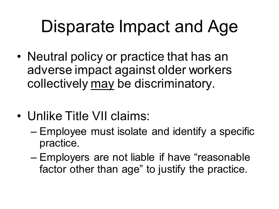 Proving Age Discrimination: Reductions in Force Duties assumed by younger employee.