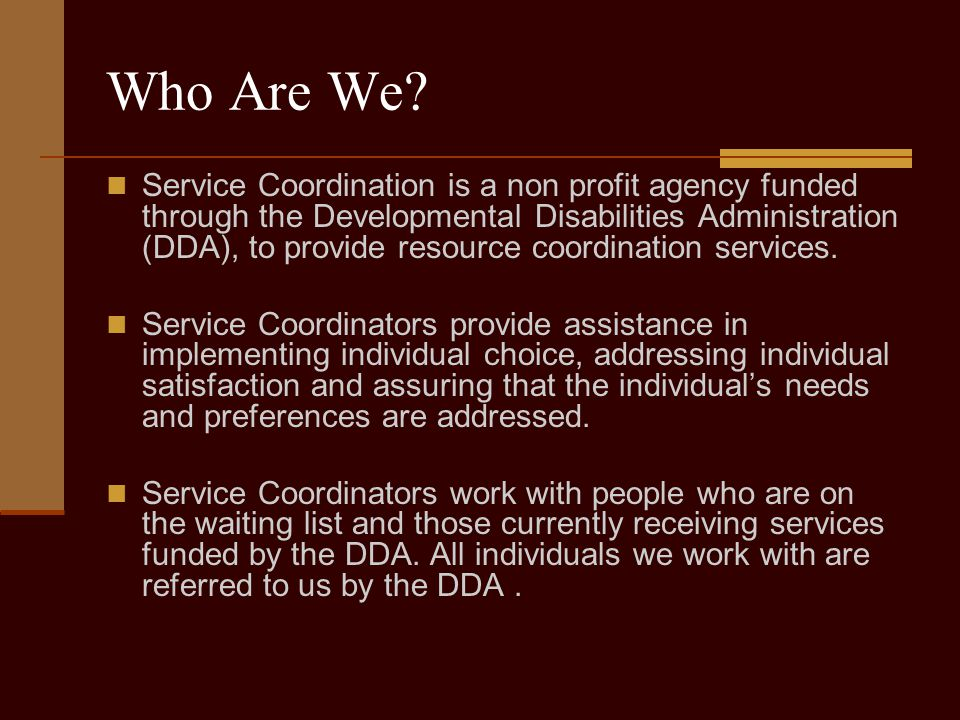 DDA Services available through the GTYI Supported employment (SEP) services are community-based services that provide the supports necessary for individuals to obtain and maintain work in the community, which may include job skills training, job development, vocational assessment, and ongoing job coaching support.