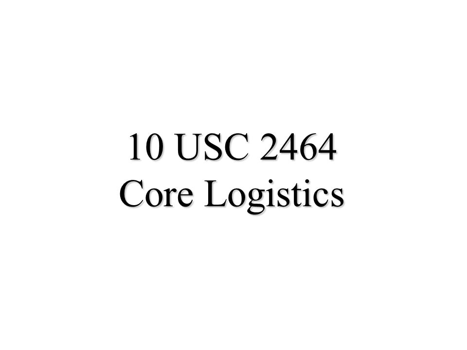 27 10 USC 2474: CITE & Partnerships (cont) u Crediting Amounts –Credited to the appropriation or working capital fund –Consideration in the form of rental payments or other forms may be accepted for use of property u Private sector use of excess equipment –No adverse impact on readiness –Must reimburse direct & indirect costs –Hold harmless provisions of 10 USC 2563 or in case of war or national emergency