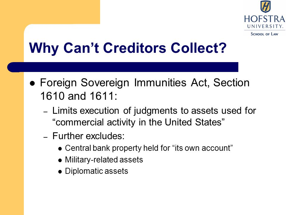 Why Can't Creditors Collect.