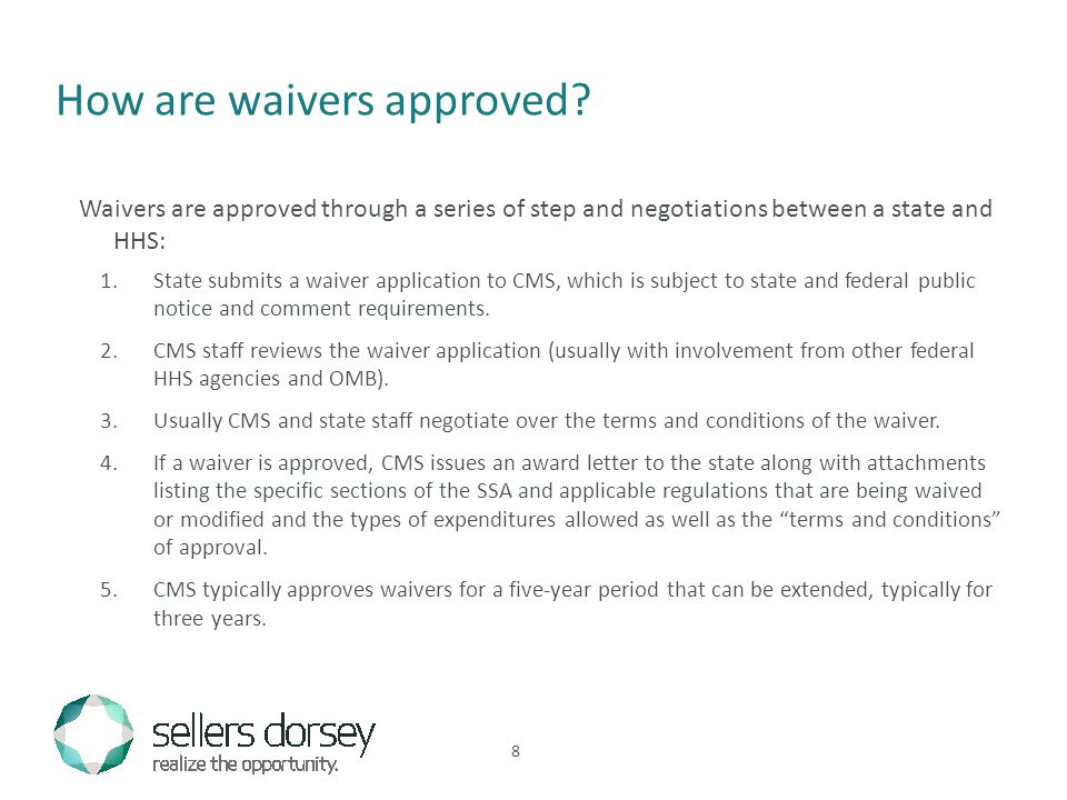 How are waivers approved.