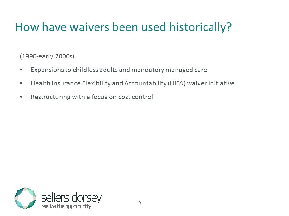 How have waivers been used historically.