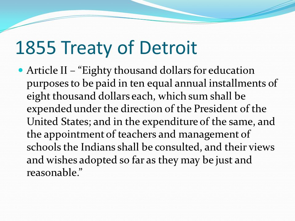 1934 Act of Congress Be it enacted by the Senate and House of Representatives of the United States of America in Congress assembled, That there is hereby granted to the State of Michigan for institutional purposes the property known and designated as the Mount Pleasant Indian School , located at Mount Pleasant, Michigan, such grant to include the land and buildings and such equipment as may be designated by the Secretary of Interior….