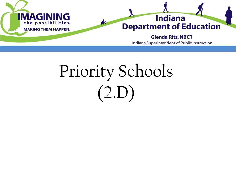 Priority Schools (2.D)