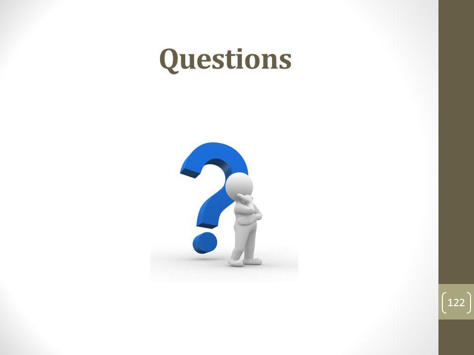 Questions 122