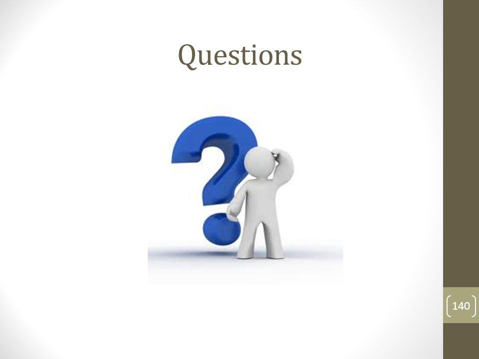 Questions 140