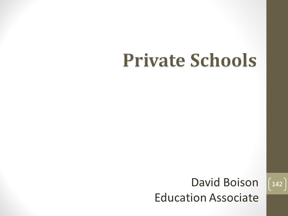 David Boison Education Associate 142