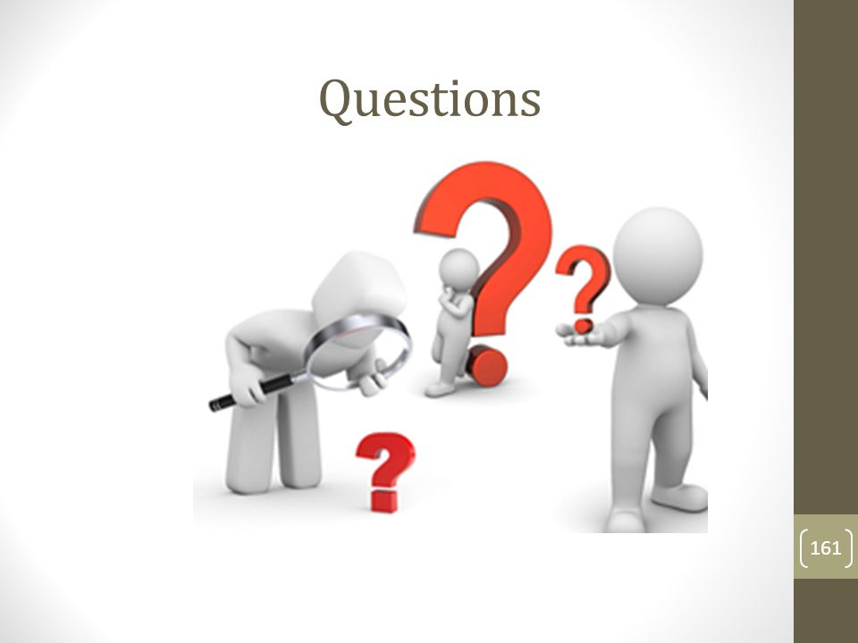 Questions 161