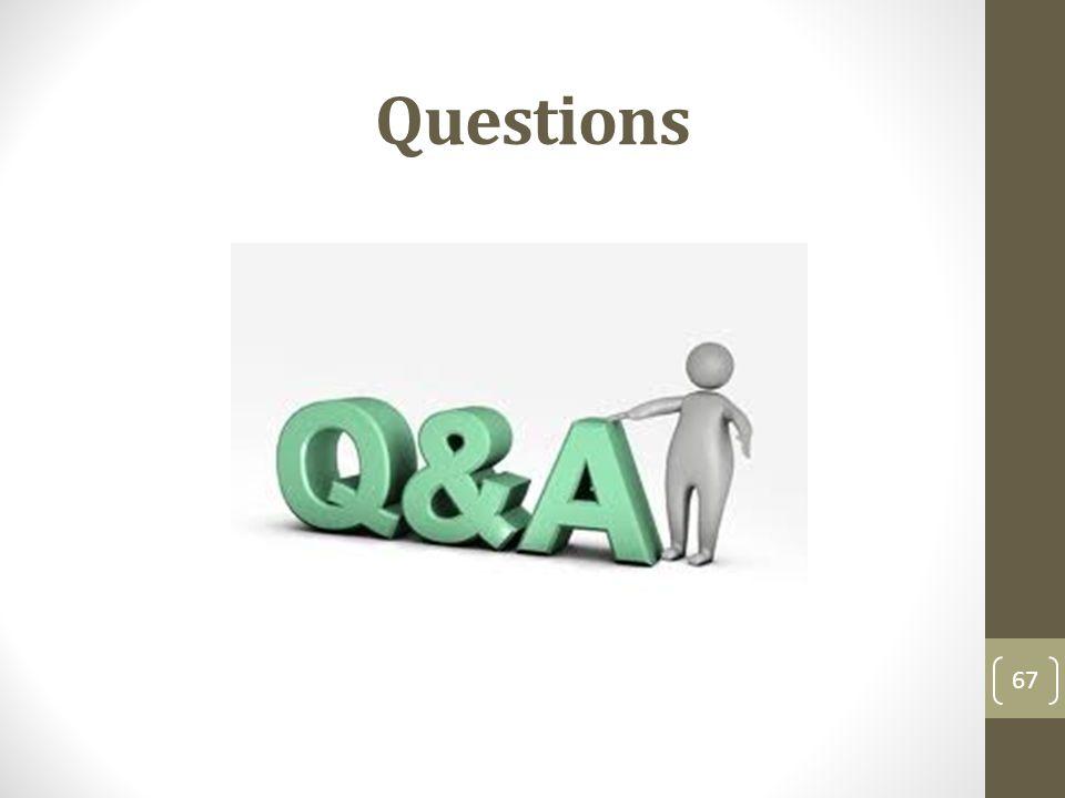 Questions 67