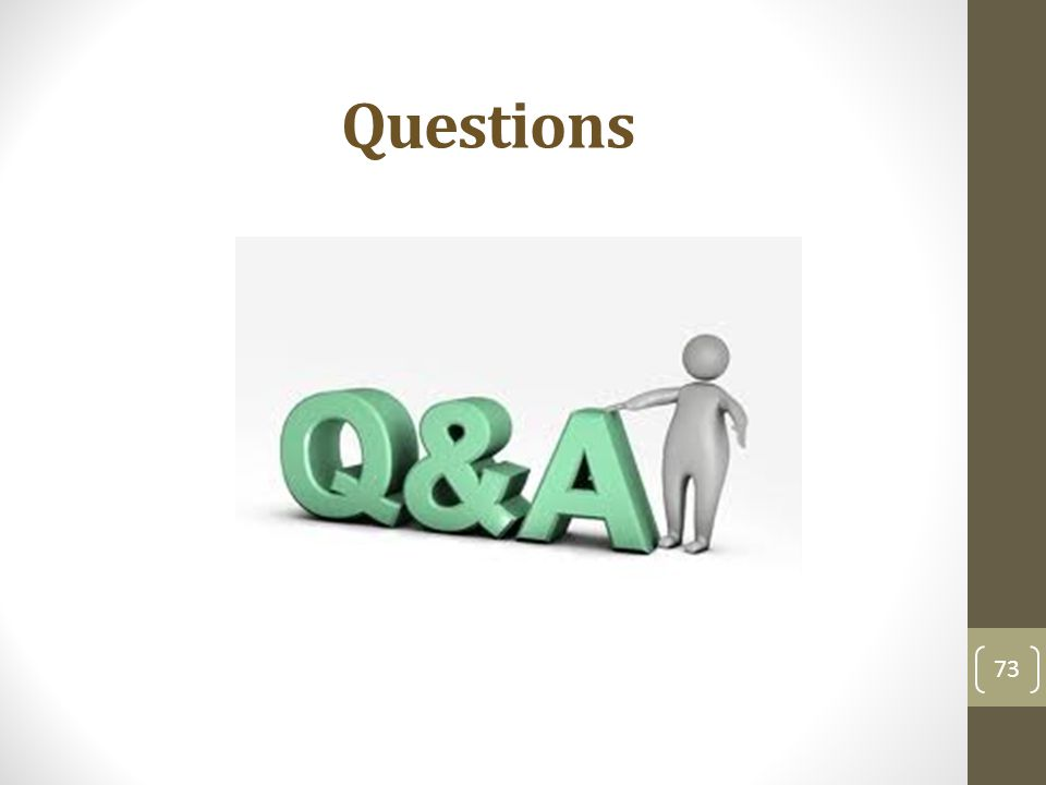 Questions 73