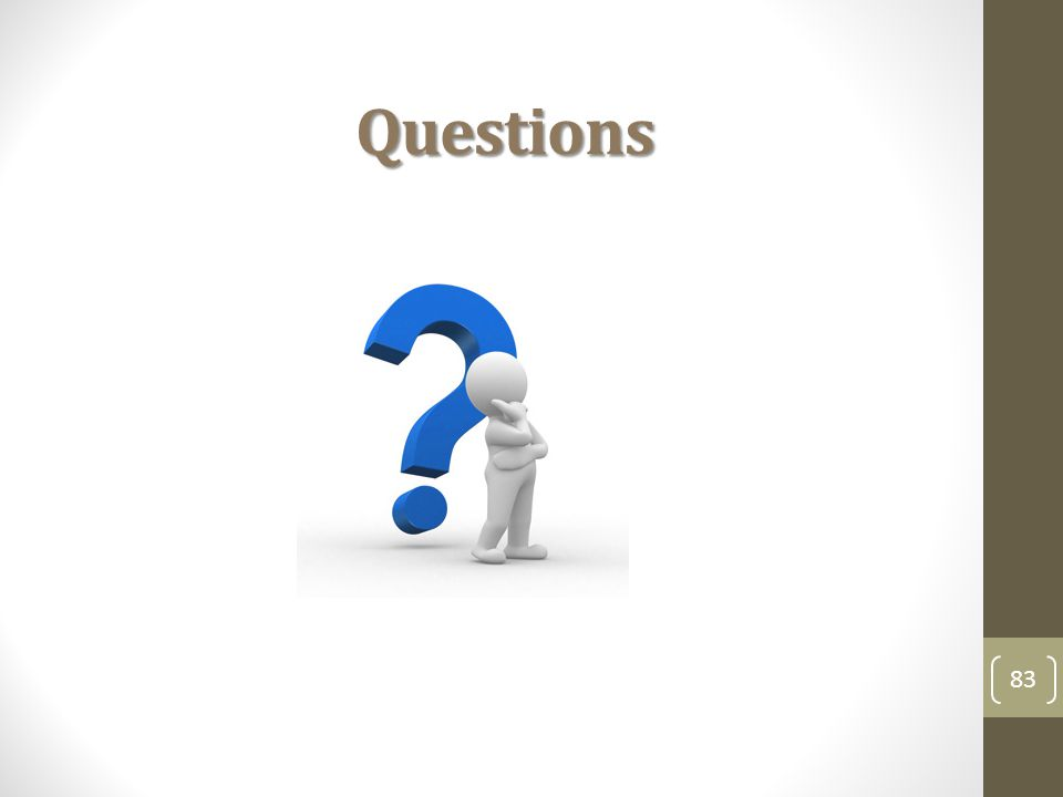 Questions 83