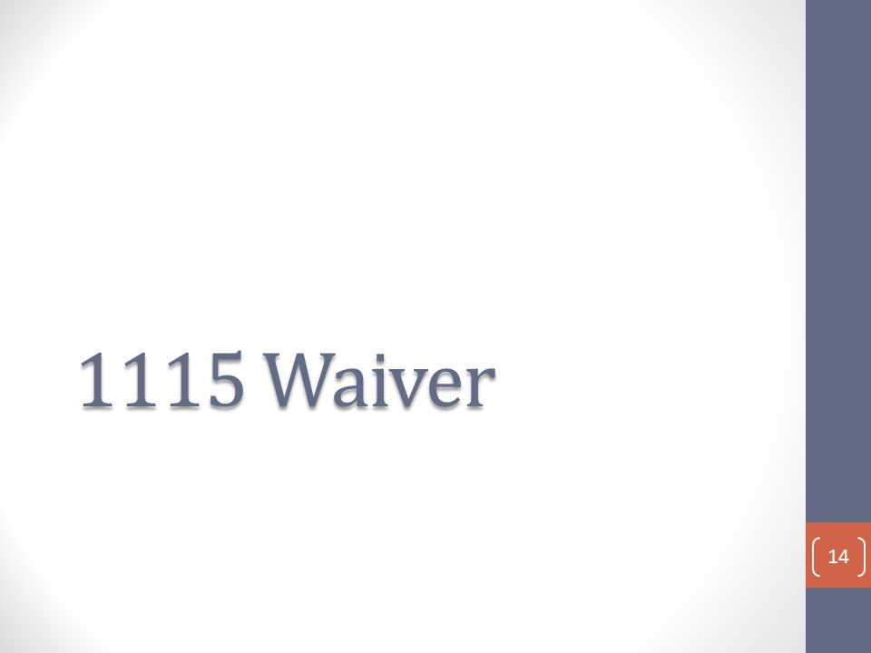 1115 Waiver 14